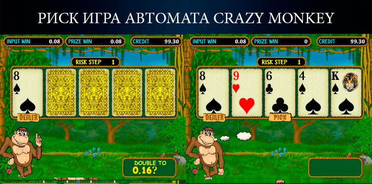 риск игра Crazy Monkey
