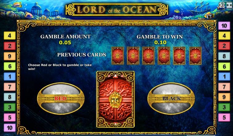 Символы игрового автомата Лорд Океана