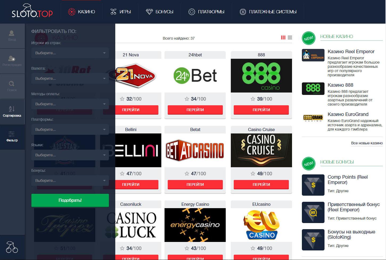 Игровые автоматы - Luxury Casino