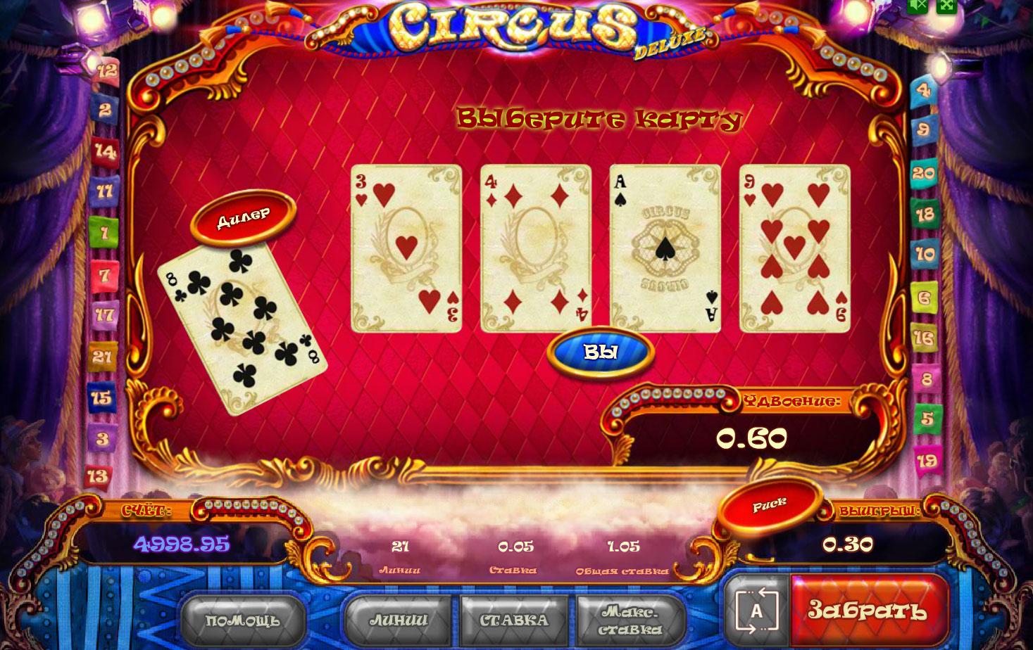 Риск игра в Цирке
