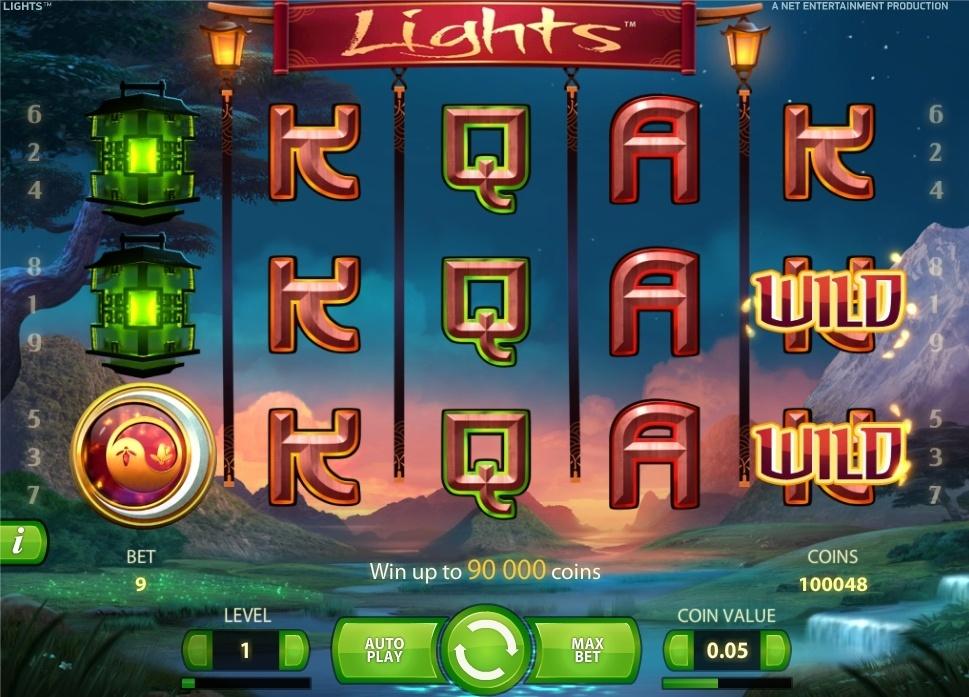 ігровий автомат ліхтарики