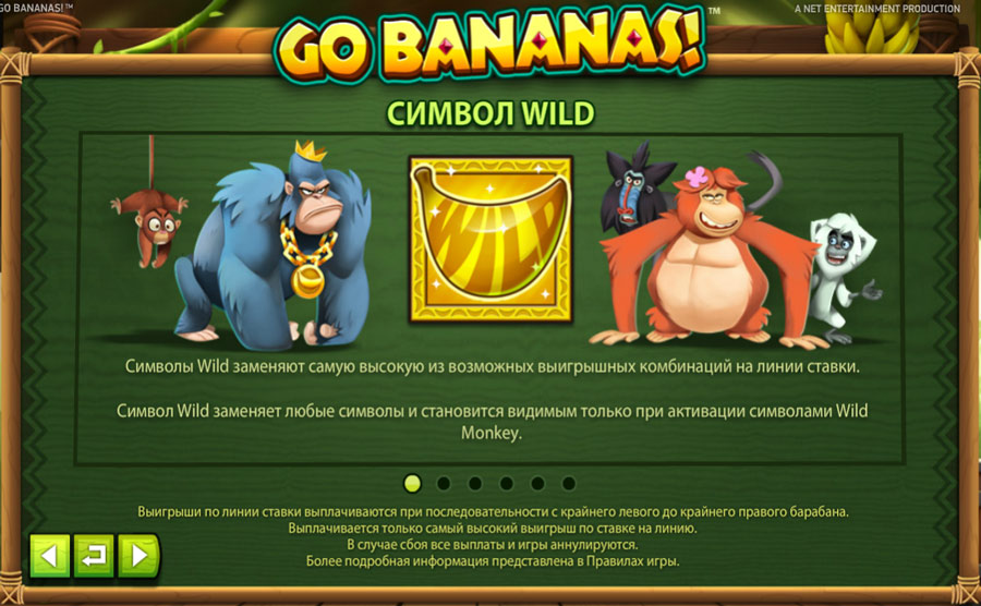 bananas wild