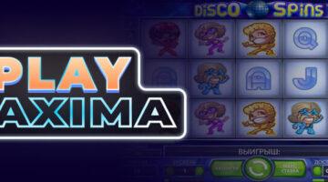 Игровой автомат Disco Spins играть онлайн