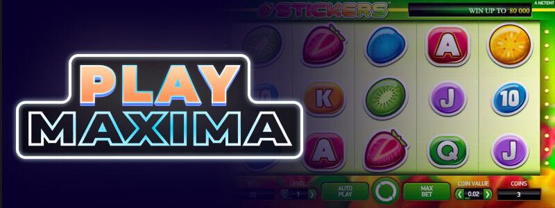 Игровой автомат Stickers играть онлайн